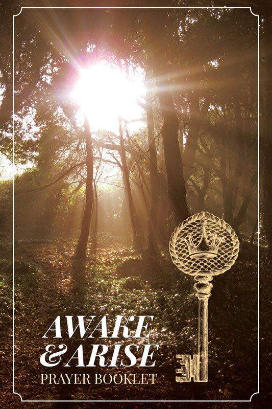 Awake and Arise Prayer Booklet - View of Cover